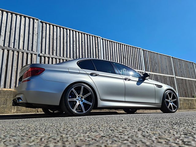 BMW after PPF on matte paint at our detailing studio close to Basingstoke, Hampshire